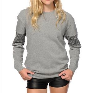 Obey crew neck sweater